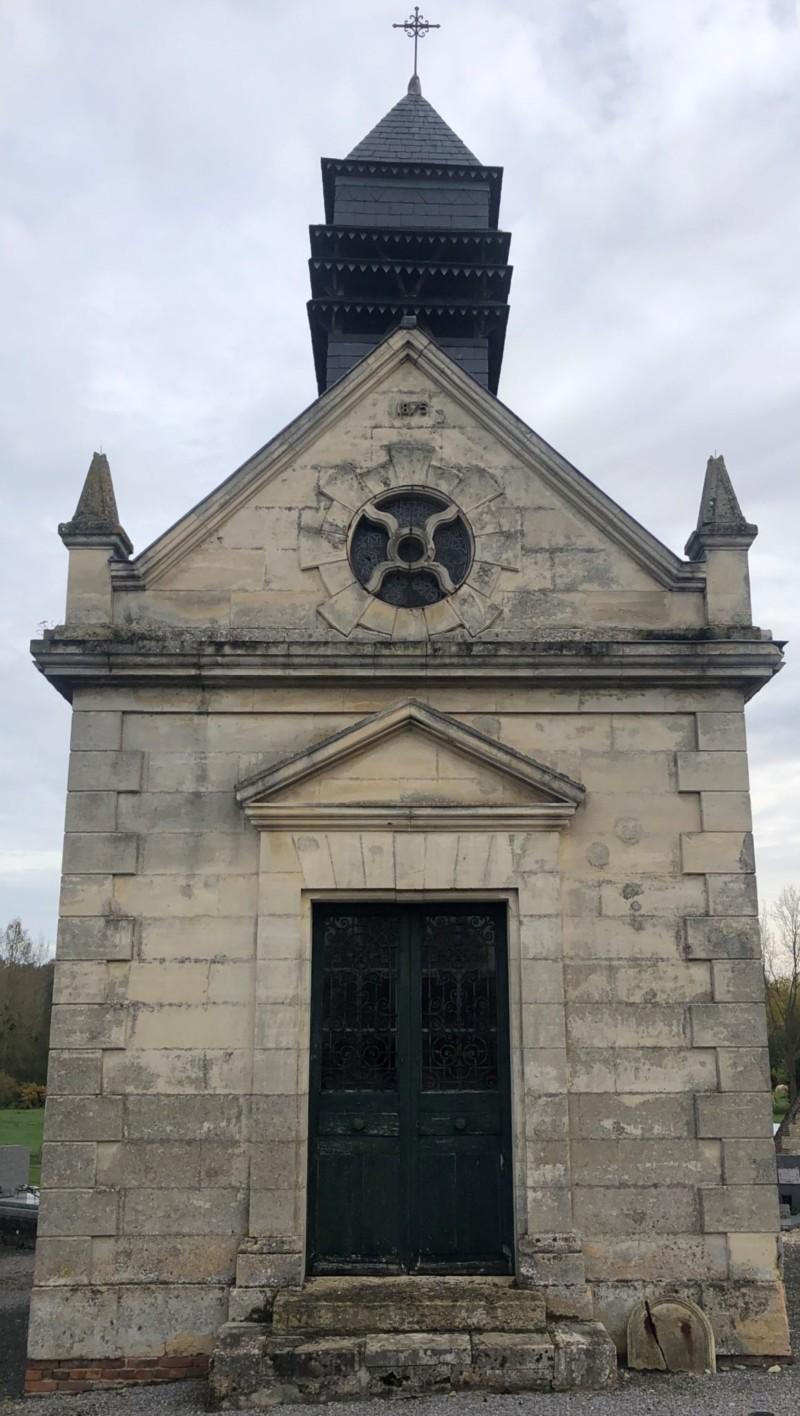 La chapelle St Martin du cimetière de Ressons Sur Matz (France – Oise)