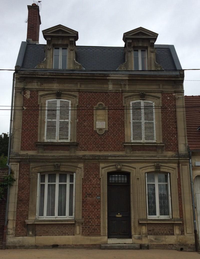 Maison du Resistant Georges LATAPIE à Ressons sur Matz (France – Oise)