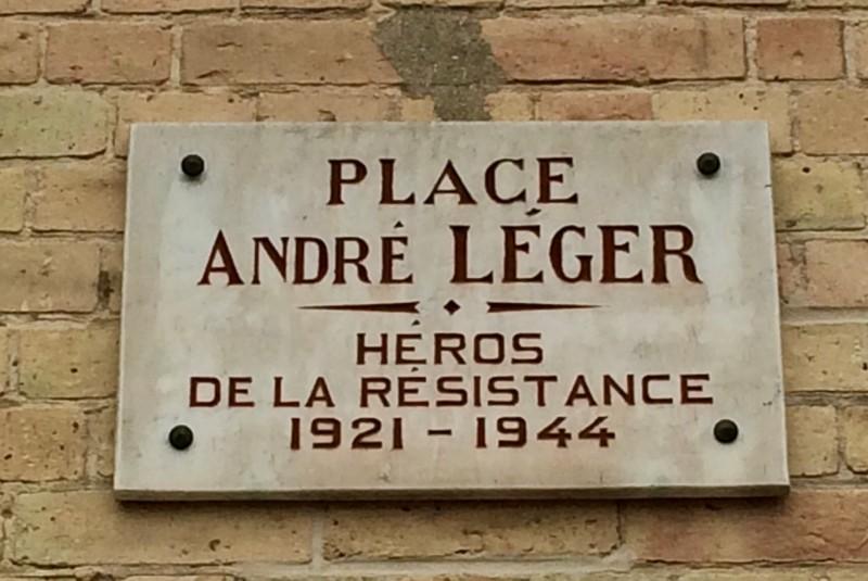 Place André LEGER de Ressons sur Matz (France – Oise)