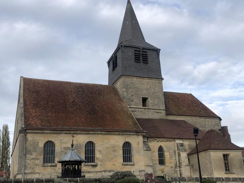 Eglise St Eloi de Mareuil la Motte (France – Oise)