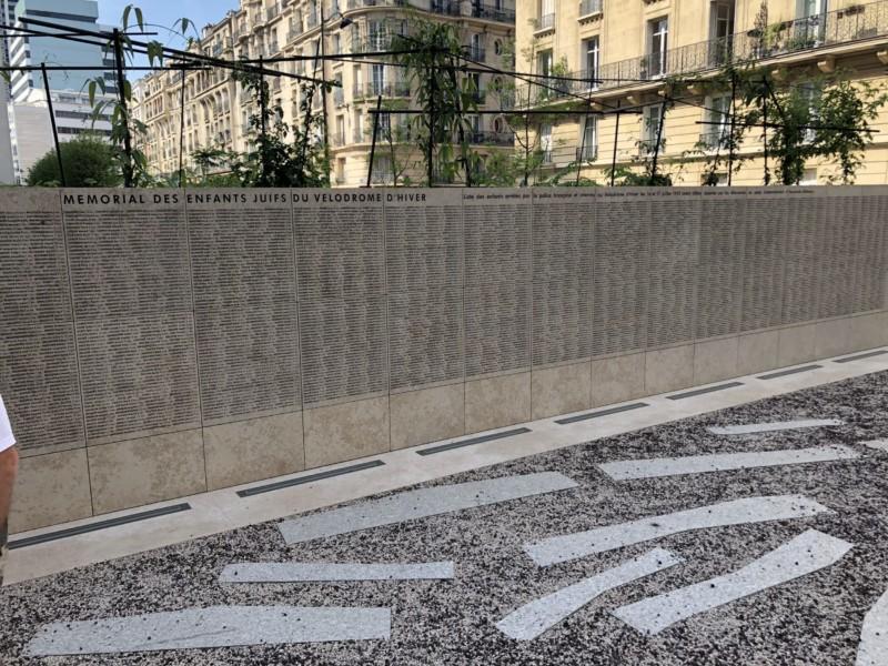 Mémorial de la Rafle du Vél d'Hiv (France – Paris 15e)
