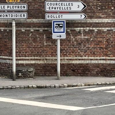 Marquage de la résistance à Tricot (France – Oise)