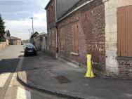 Trace de marquage de la Résistance à Tricot (France – Oise)