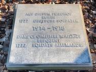 Cimetière militaire allemand à Lassigny (France -Oise)