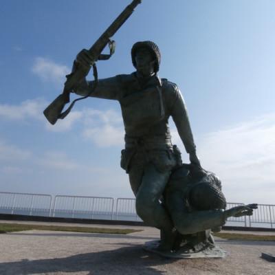 Monument de la 29e Division Américaine à Vierville-Sur-Mer (France – Calvados)