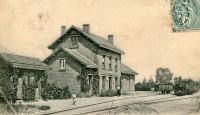 Ancienne gare de Lassigny (France – Oise)