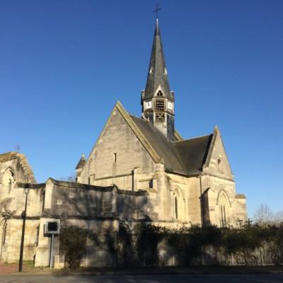 Eglise Saint Jean Baptiste de Plessis de Roye (France – Oise)