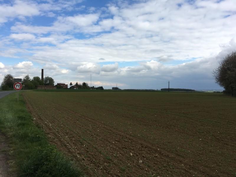 Site de l'atterrissage forcé du Baron Rouge à Vaux sur Somme (France – Somme)