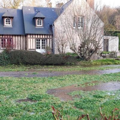 Les moulins de la Veules à Veules-les-Roses (France – Seine Maritime)