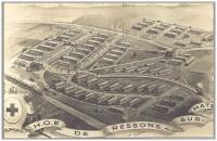 Hôpital de Campagne de l'Armée Francaise de Ressons sur Matz (France – Oise)