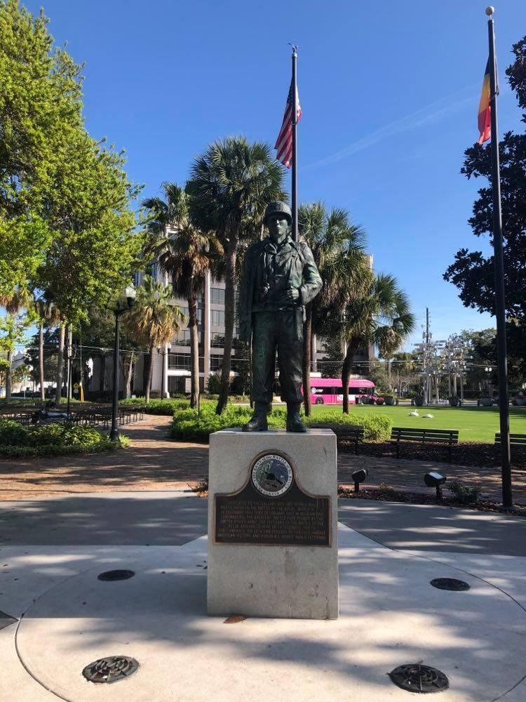 Mémorial de la bataille des Ardennes à Orlando (USA – Floride)
