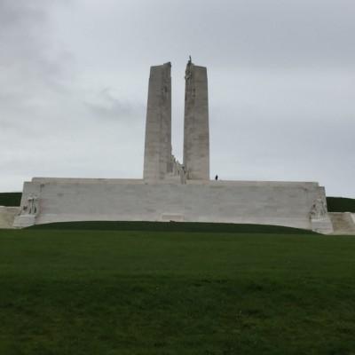 Mémorial national du Canada de Vimy (France – Pas de Calais)