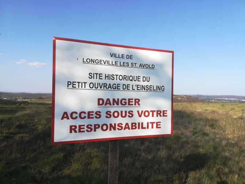 Ouvrage de l'einseling à Longeville les St Avold (France – Moselle)