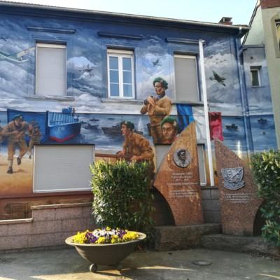Hommage au commandant Alexandre LOFI à L'Hopital (France – Moselle)