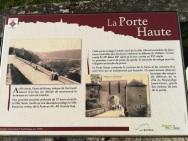 La porte haute de Liverdun (France -Meurthe et Moselle)
