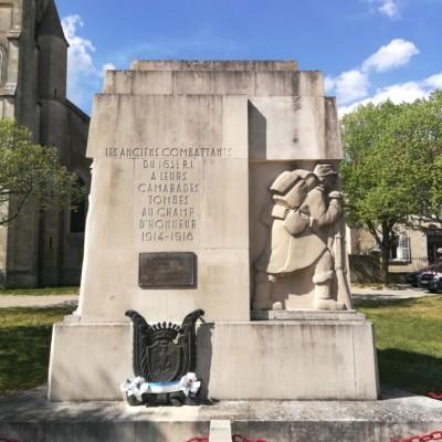 Monument du 163e RI à Flirey (France – Meurthe et Moselle)