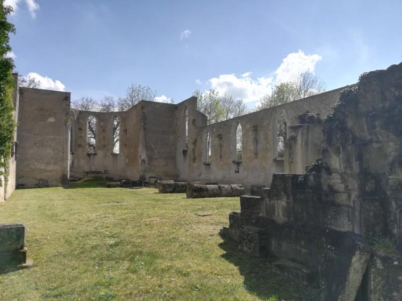 Eglise de l'ancien village de Flirey (France – Meurthe et Moselle)