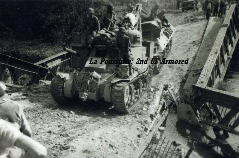 Libération 1944: Un pont sur la Somme à Bray sur Somme (France – Somme)