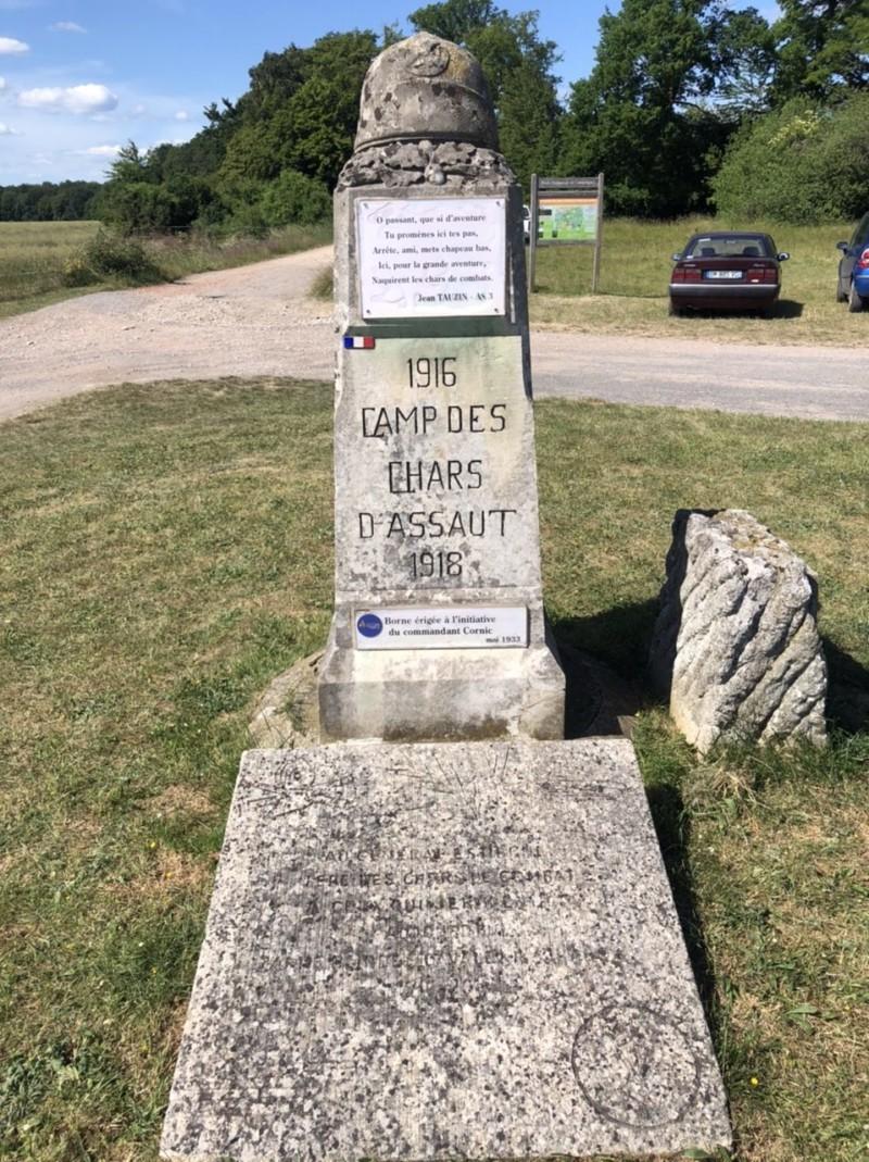 Camp d'entraînement de char de Champlieu (France – Oise)