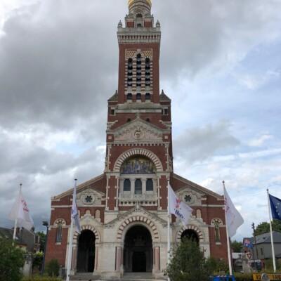 Basilique Notre-Dame de Brebières à Albert (France – Somme)