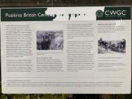 Cimetière militaire britannique à Pozières (France – Somme)