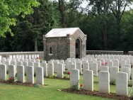 Connaught cemetery à Thiepval (France – Somme)