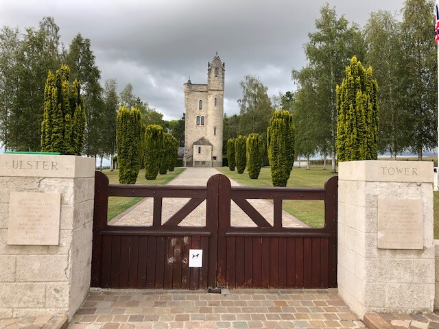 Ulster Tower à Thiepval (France – Somme)