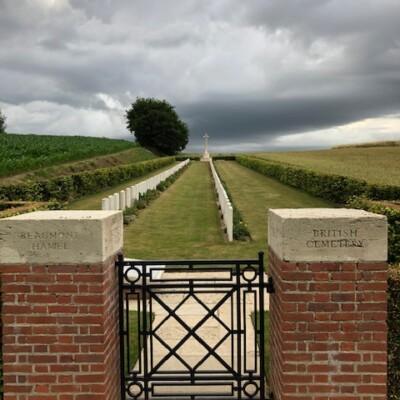 British Cemetery à Beaumont Hamel (France – Somme)