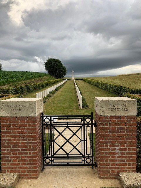 British Cemetery à Beaumont Hamel (France – Somme)