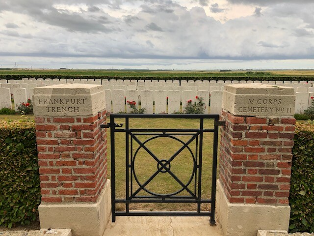 Frankfurt Trench British Cemetery à Beaumont Hamel (France – Somme)