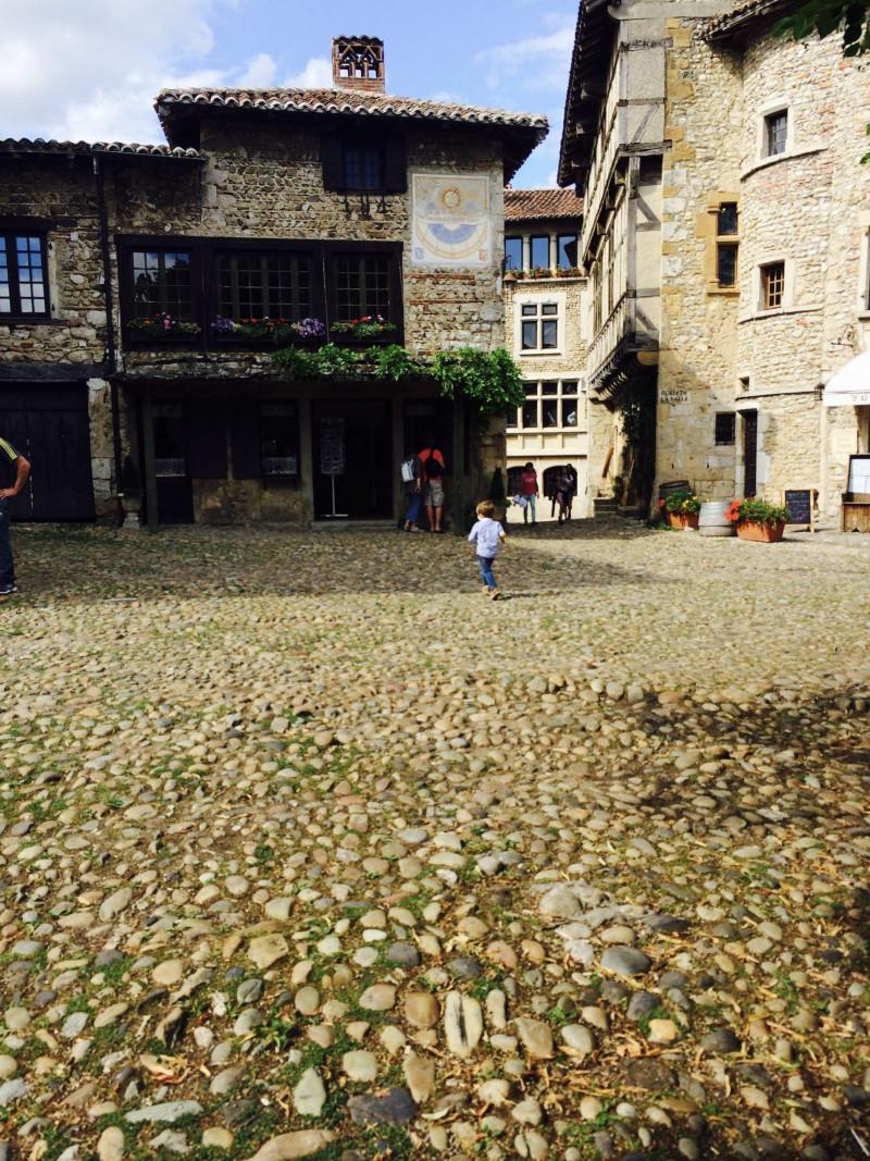 Village médiéval de Pérouges (France – Ain)