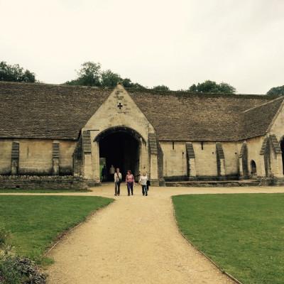 La grange du monastère du 14ème siècle à Bradford on Avon (United Kingdom)