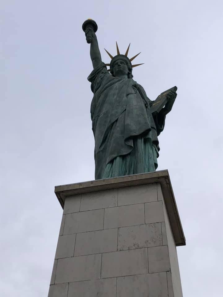 The Statue of Liberty, Pont de Grenelle, Paris France