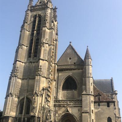 Église St Jacques de Compiegne (France – Oise)