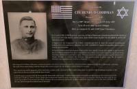 Plaque commémorative de l'Us Army durant la première guerre mondiale à Chery Chartreuve (France – Aisne)