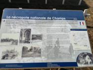 Cimetiere militaire de Champs (France – Aisne)