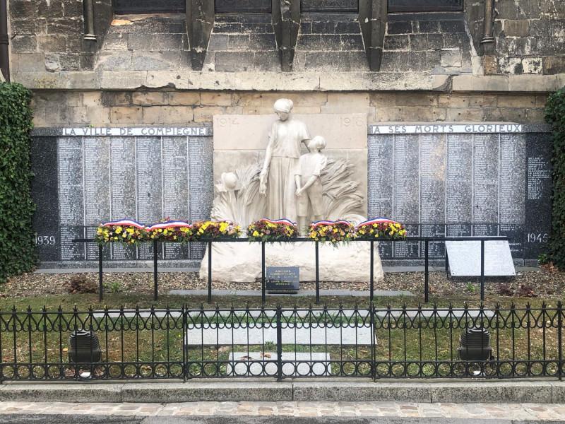 Monument aux morts de la ville de Compiègne (France – Oise)