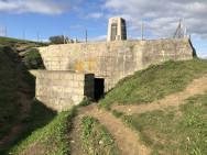Casemate R669 N°2 de l'appui feu Wn62 de Colleville sur Mer (France – Calvados)