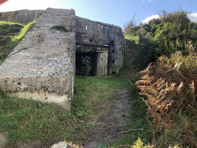 Casemate R669 N°1 de l'appui feu Wn62 de Colleville sur Mer (France – Calvados)