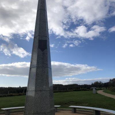 Mémorial de la 1ère Division d'infanterie américaine à Colleville sur mer (France – Calvados)