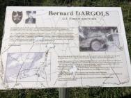 Stèle Bernard Dargols à St Laurent sur Mer (France – Calvados)