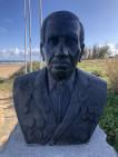 Monument à la gloire des amérindiens de la libération à St Laurent sur Mer (France – Calvados)